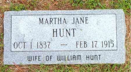 HUNT, MARTHA JANE - Boone County, Arkansas | MARTHA JANE HUNT - Arkansas Gravestone Photos