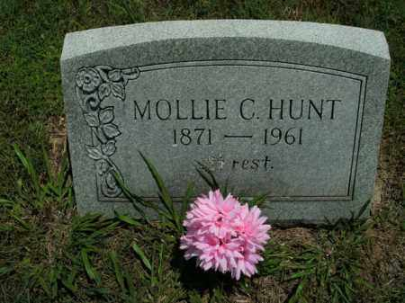 HUNT, MOLLIE C. - Boone County, Arkansas | MOLLIE C. HUNT - Arkansas Gravestone Photos