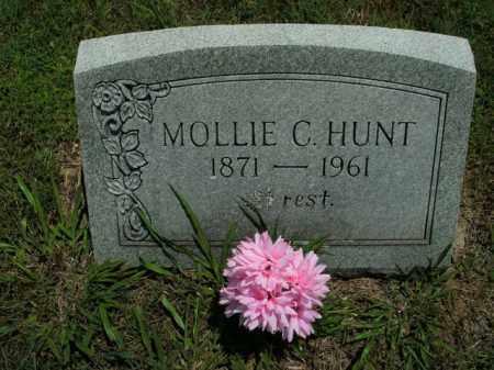 HUNT, MOLLIE C. - Boone County, Arkansas | MOLLIE C. HUNT - Arkansas Gravestone Photos