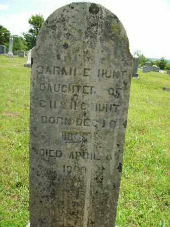 HUNT, SARAH E. - Boone County, Arkansas | SARAH E. HUNT - Arkansas Gravestone Photos