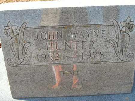 HUNTER, JOHN WAYNE - Boone County, Arkansas | JOHN WAYNE HUNTER - Arkansas Gravestone Photos