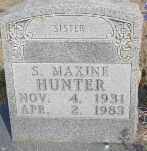 HUNTER, SYLVIA MAXINE - Boone County, Arkansas | SYLVIA MAXINE HUNTER - Arkansas Gravestone Photos