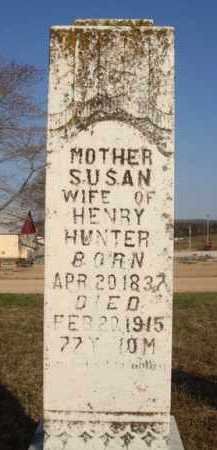 HUNTER, SUSAN - Boone County, Arkansas | SUSAN HUNTER - Arkansas Gravestone Photos