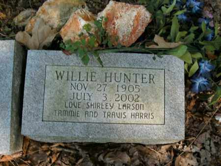 HUNTER, WILLIE - Boone County, Arkansas | WILLIE HUNTER - Arkansas Gravestone Photos