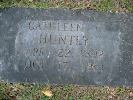 HUNTLY, CATHLEEN G. - Boone County, Arkansas | CATHLEEN G. HUNTLY - Arkansas Gravestone Photos