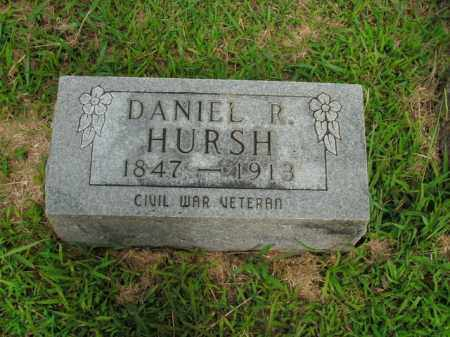 HURSH  (VETERAN UNION), DANIEL R - Boone County, Arkansas | DANIEL R HURSH  (VETERAN UNION) - Arkansas Gravestone Photos