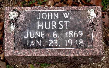 HURST, JOHN  W. - Boone County, Arkansas | JOHN  W. HURST - Arkansas Gravestone Photos