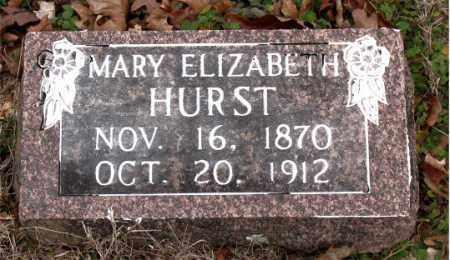 HURST, MARY ELIZABETH - Boone County, Arkansas | MARY ELIZABETH HURST - Arkansas Gravestone Photos