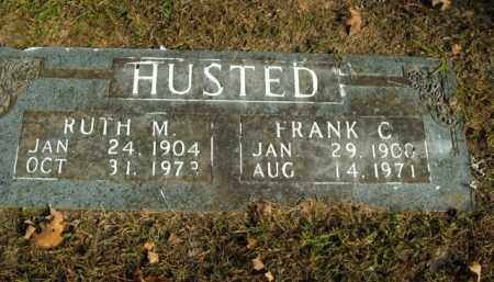 HUSTED, FRANK C. - Boone County, Arkansas | FRANK C. HUSTED - Arkansas Gravestone Photos