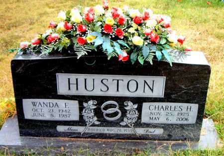 HUSTON, WANDA  F - Boone County, Arkansas | WANDA  F HUSTON - Arkansas Gravestone Photos