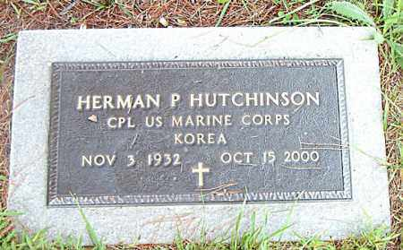 HUTCHINSON  (VETERAN KOR), HERMAN  P - Boone County, Arkansas | HERMAN  P HUTCHINSON  (VETERAN KOR) - Arkansas Gravestone Photos