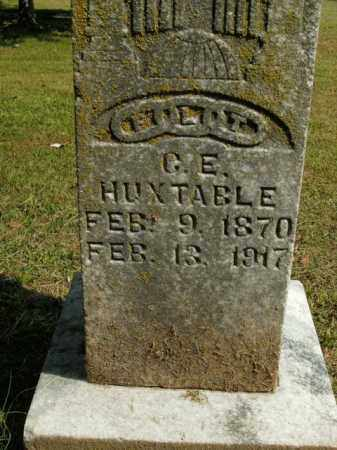 HUXTABLE, G.E. - Boone County, Arkansas | G.E. HUXTABLE - Arkansas Gravestone Photos