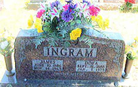 INGRAM, JAMES P - Boone County, Arkansas | JAMES P INGRAM - Arkansas Gravestone Photos