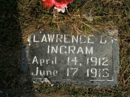 INGRAM, LAWRENCE D. - Boone County, Arkansas | LAWRENCE D. INGRAM - Arkansas Gravestone Photos