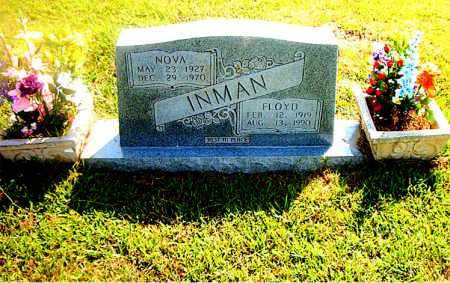 INMAN, FLOYD - Boone County, Arkansas | FLOYD INMAN - Arkansas Gravestone Photos