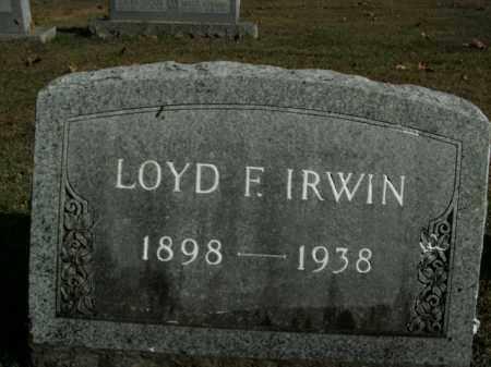 IRWIN, LOYD F. - Boone County, Arkansas | LOYD F. IRWIN - Arkansas Gravestone Photos