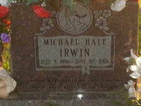 IRWIN, MICHAEL HALE - Boone County, Arkansas | MICHAEL HALE IRWIN - Arkansas Gravestone Photos