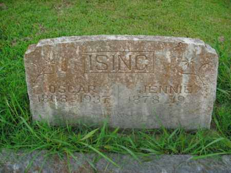 ISING, OSCAR - Boone County, Arkansas | OSCAR ISING - Arkansas Gravestone Photos