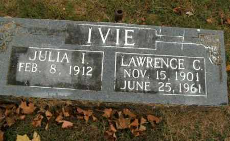 IVIE, LAWRENCE C. - Boone County, Arkansas | LAWRENCE C. IVIE - Arkansas Gravestone Photos