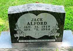 JACK, ALFORD - Boone County, Arkansas | ALFORD JACK - Arkansas Gravestone Photos
