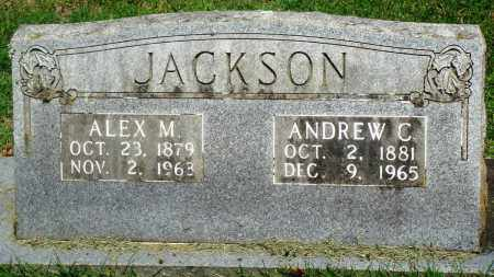 JACKSON, ALEX M - Boone County, Arkansas | ALEX M JACKSON - Arkansas Gravestone Photos