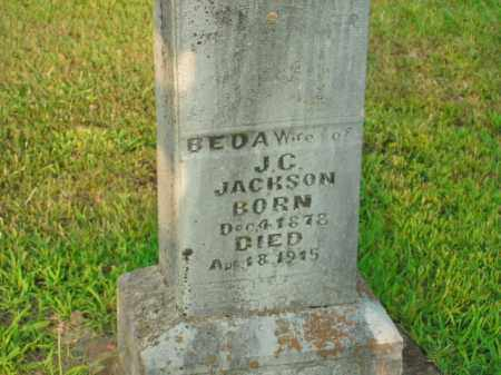 JACKSON, BEDA - Boone County, Arkansas | BEDA JACKSON - Arkansas Gravestone Photos