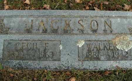 JACKSON, WALKER E. - Boone County, Arkansas | WALKER E. JACKSON - Arkansas Gravestone Photos