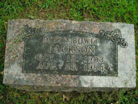 BOWER JACKSON, DORIS - Boone County, Arkansas | DORIS BOWER JACKSON - Arkansas Gravestone Photos