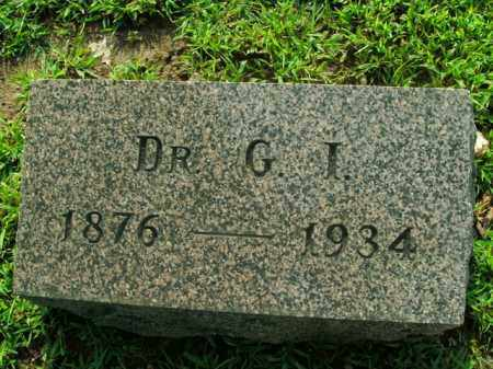 JACKSON, GEORGE IRA (DOCTOR) - Boone County, Arkansas | GEORGE IRA (DOCTOR) JACKSON - Arkansas Gravestone Photos