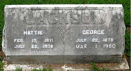 JACKSON, HATTIE - Boone County, Arkansas | HATTIE JACKSON - Arkansas Gravestone Photos
