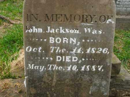 JACKSON, JOHN - Boone County, Arkansas | JOHN JACKSON - Arkansas Gravestone Photos