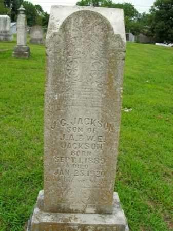 JACKSON, J. G. - Boone County, Arkansas | J. G. JACKSON - Arkansas Gravestone Photos