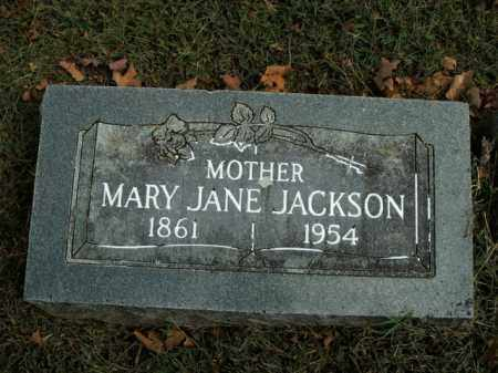 JACKSON, MARY JANE - Boone County, Arkansas | MARY JANE JACKSON - Arkansas Gravestone Photos