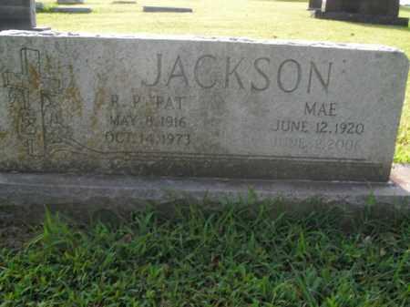 JACKSON, R.P. - Boone County, Arkansas | R.P. JACKSON - Arkansas Gravestone Photos