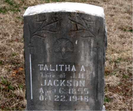 JACKSON, TALITHA  A. - Boone County, Arkansas | TALITHA  A. JACKSON - Arkansas Gravestone Photos