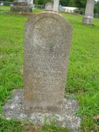 JACKSON, WALTER J. - Boone County, Arkansas | WALTER J. JACKSON - Arkansas Gravestone Photos