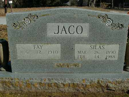 JACO, SILAS - Boone County, Arkansas | SILAS JACO - Arkansas Gravestone Photos