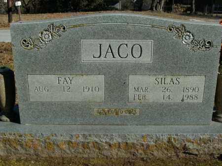 JACO, SILAS - Boone County, Arkansas | SILAS JACO - Arkansas Gravestone Photos