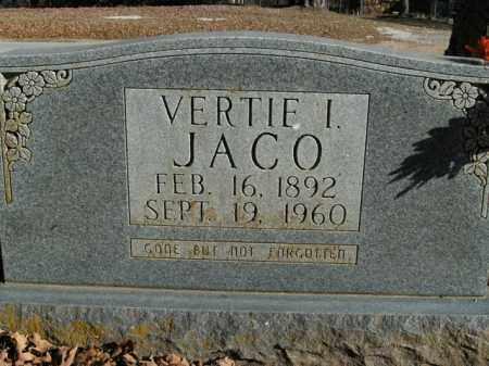 JACO, VERTIE I. - Boone County, Arkansas | VERTIE I. JACO - Arkansas Gravestone Photos
