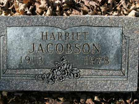 JACOBSON, HARRIET - Boone County, Arkansas | HARRIET JACOBSON - Arkansas Gravestone Photos