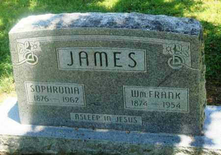 JAMES, WILLIAM FRANKLIN - Boone County, Arkansas | WILLIAM FRANKLIN JAMES - Arkansas Gravestone Photos