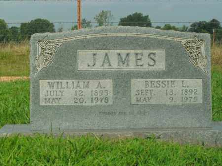 JAMES, WILLIAM A. - Boone County, Arkansas | WILLIAM A. JAMES - Arkansas Gravestone Photos