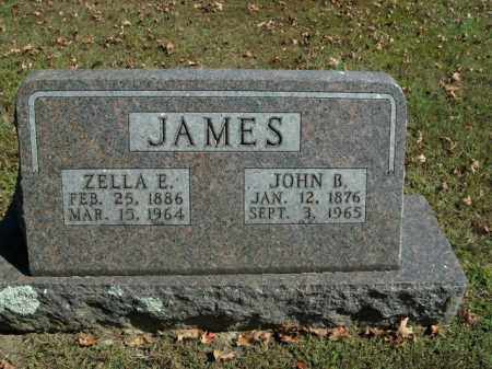 JAMES, ZELLA E. - Boone County, Arkansas | ZELLA E. JAMES - Arkansas Gravestone Photos