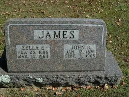 JAMES, ZELLA E. - Boone County, Arkansas | ZELLA E. JAMES - Arkansas Gravestone Photos