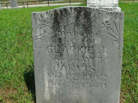 JARVIS, CLARKIE J. - Boone County, Arkansas | CLARKIE J. JARVIS - Arkansas Gravestone Photos