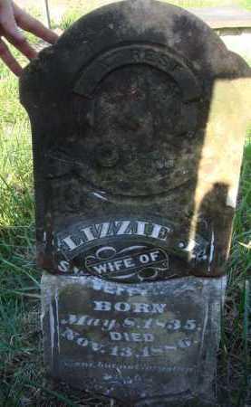 JEFFERSON, LIZZIE J. - Boone County, Arkansas | LIZZIE J. JEFFERSON - Arkansas Gravestone Photos