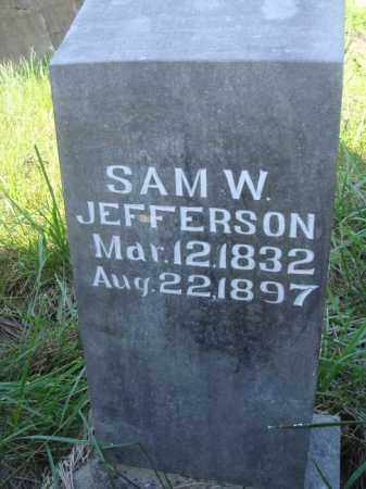 JEFFERSON, SAM W. - Boone County, Arkansas | SAM W. JEFFERSON - Arkansas Gravestone Photos