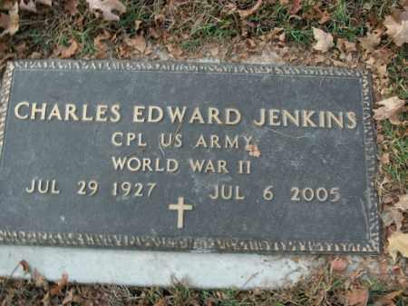 JENKINS  (VETERAN WWII), CHARLES EDWARD - Boone County, Arkansas | CHARLES EDWARD JENKINS  (VETERAN WWII) - Arkansas Gravestone Photos