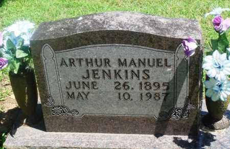 JENKINS, ARTHUR MANUEL - Boone County, Arkansas | ARTHUR MANUEL JENKINS - Arkansas Gravestone Photos