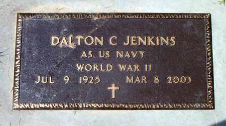 JENKINS  (VETERAN WWII), DALTON  C. - Boone County, Arkansas | DALTON  C. JENKINS  (VETERAN WWII) - Arkansas Gravestone Photos